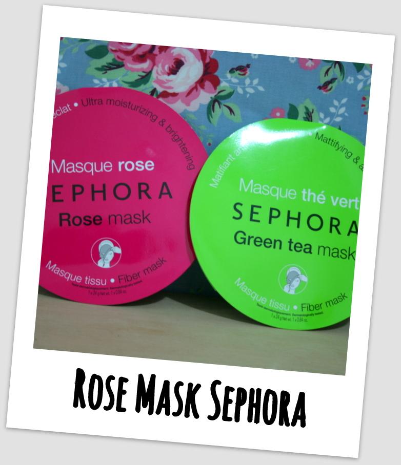 Máscara Hidratante - Rose Mask Sephora