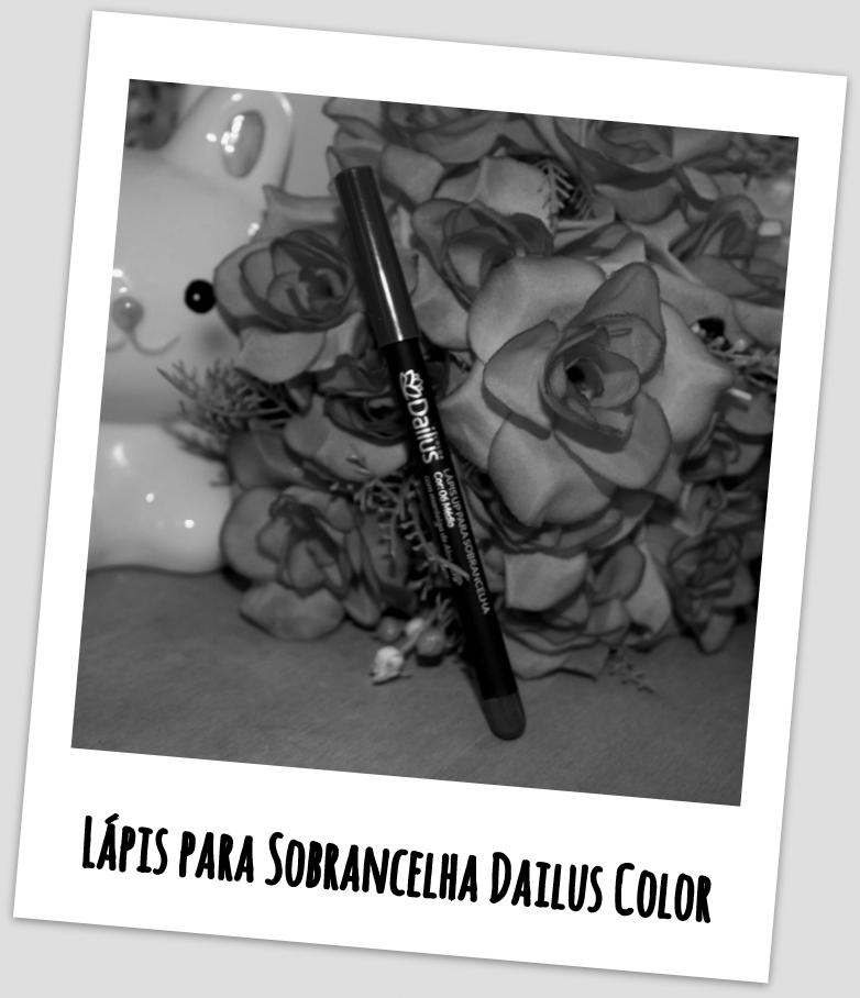 Lápis para Sobrancelha Dailus Color