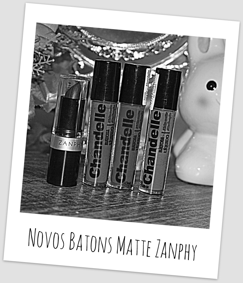 Novos Batons Matte Zanphy
