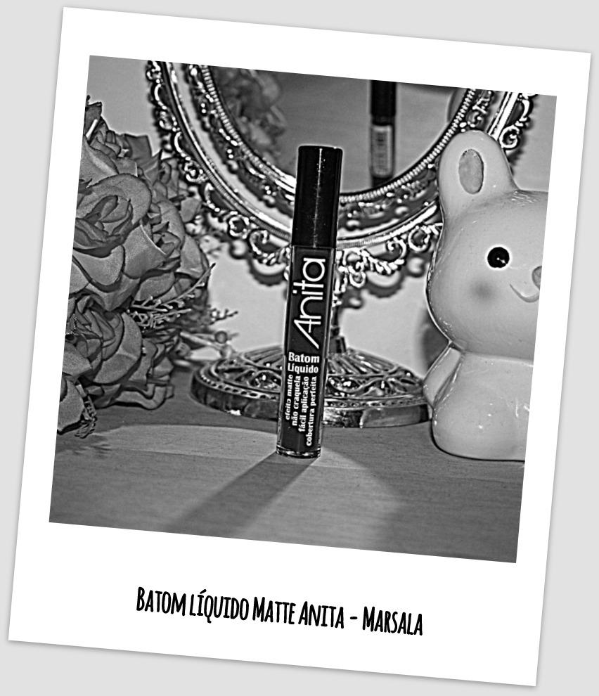 Batom Líquido Matte Anita - Marsala