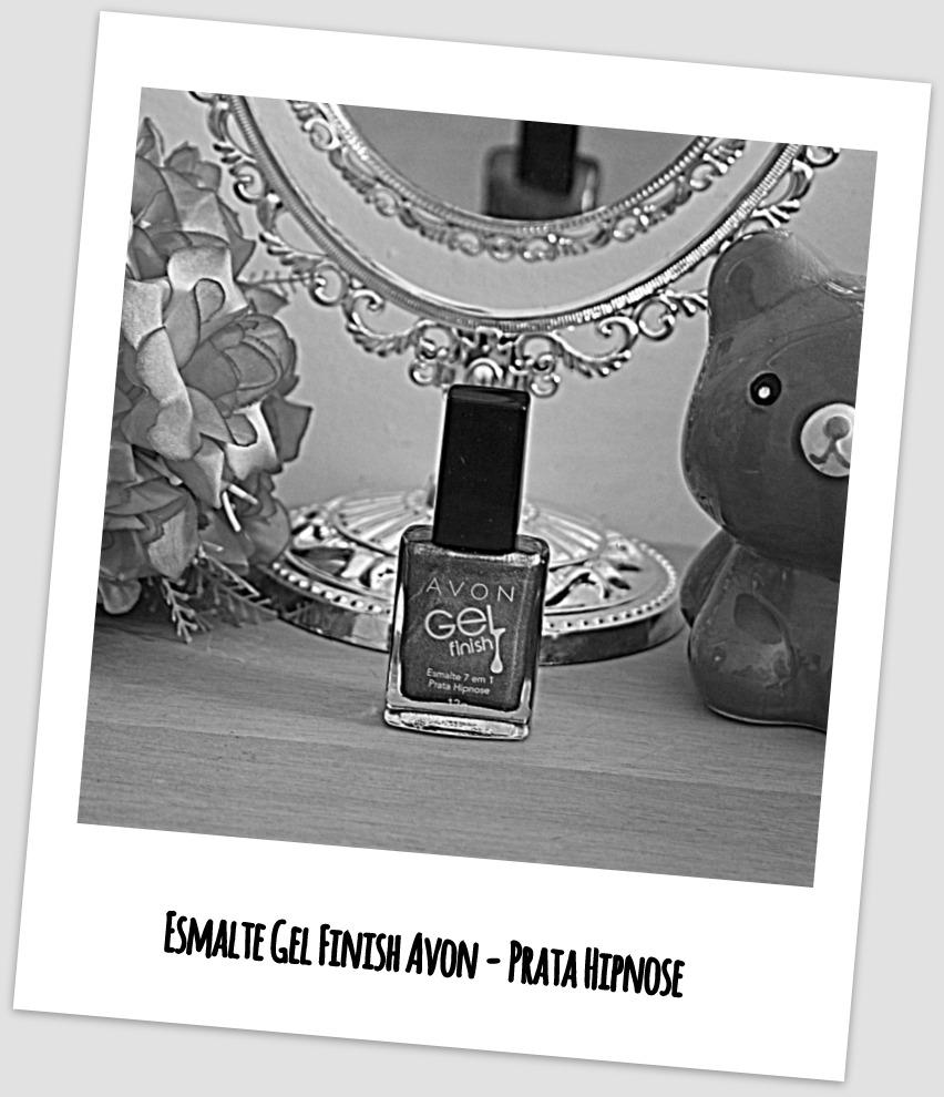 Esmalte Gel Finish Avon - Prata Hipnose