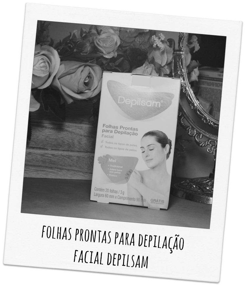 Folhas Prontas para Depilação Facial Depilsam