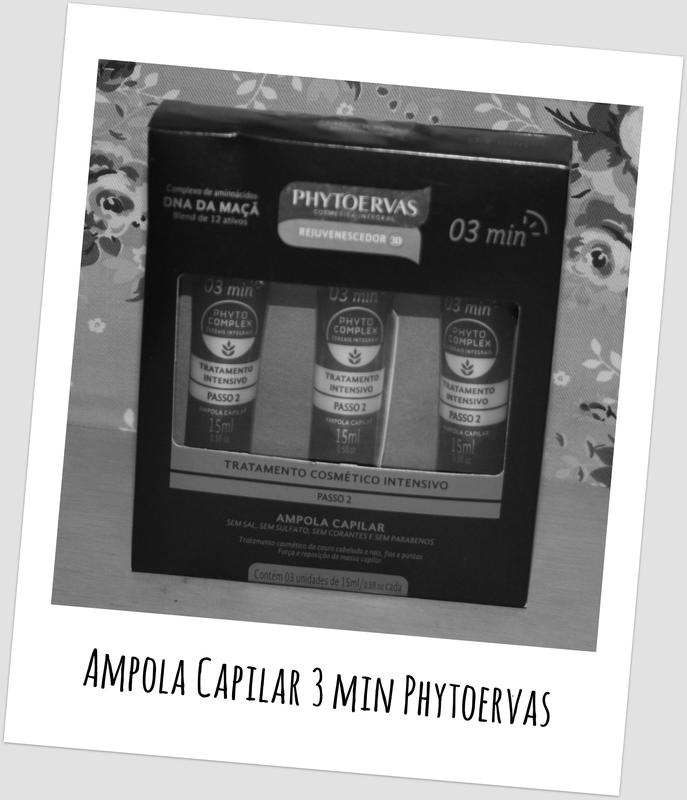 Ampola Capilar 3 min Phytoervas