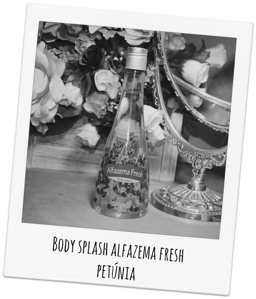 Body Splash Alfazema Fresh Petúnia
