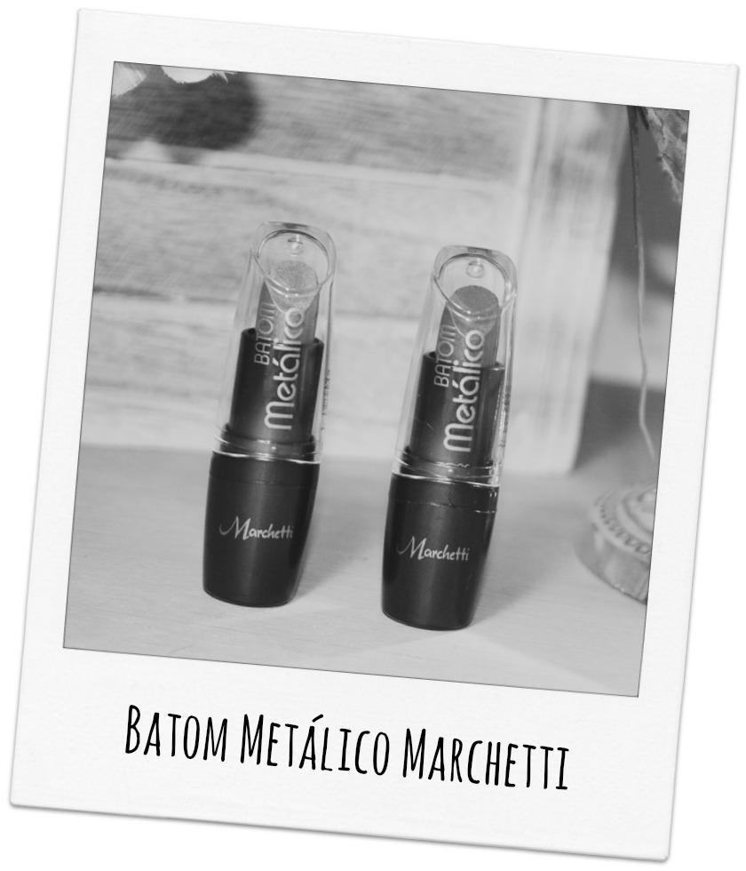 Batom Metálico Marchetti