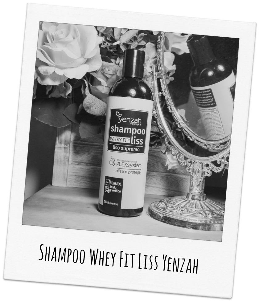 Cabelos lisos? Shampoo Whey Fit Liss Yenzah