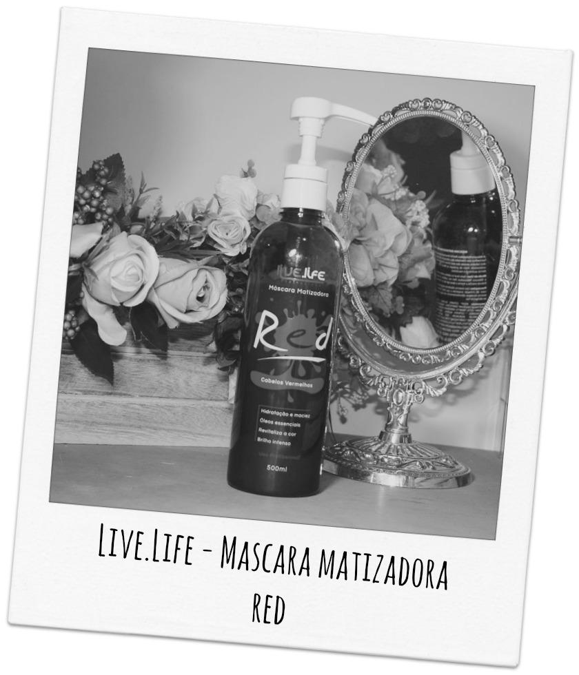 Máscara Matizadora Red - Live.Life