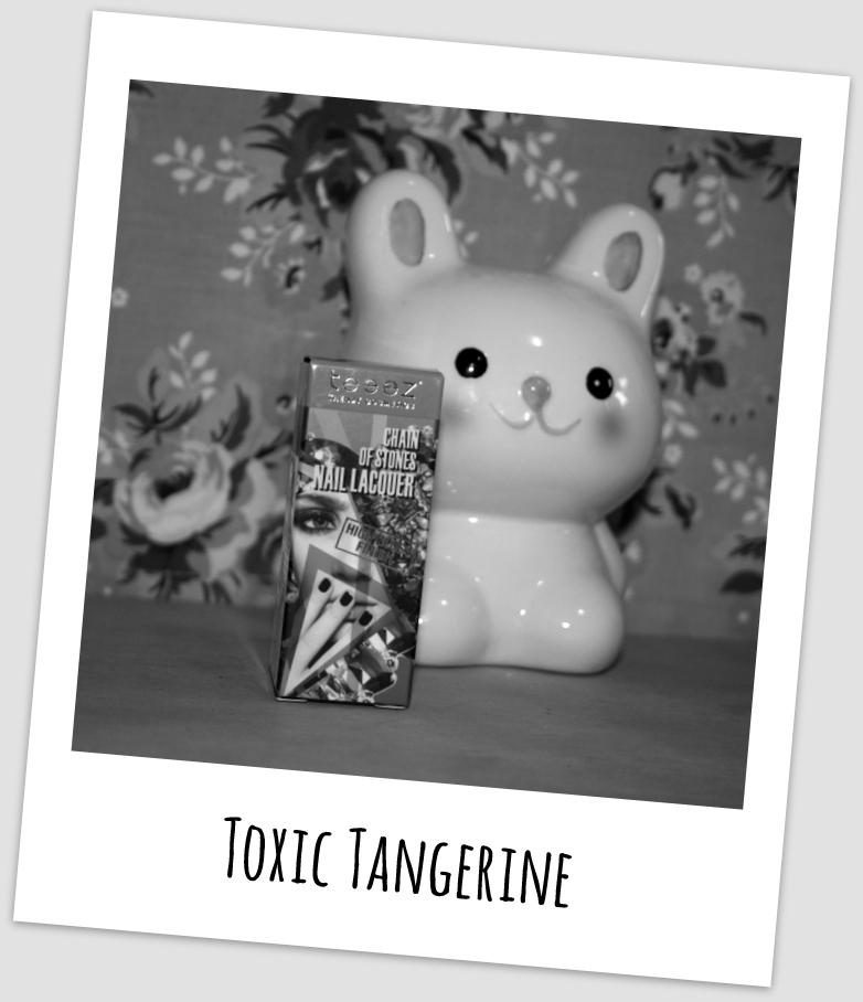 Esmaltando - Toxic Tangerine Teeez Cosmetics