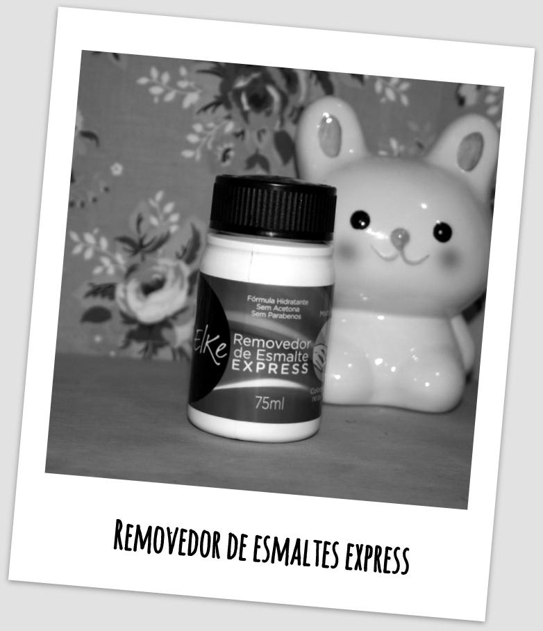 Removedor de Esmaltes Express Elke