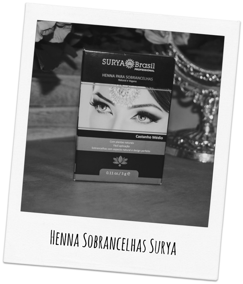 Henna para Sobrancelhas Surya