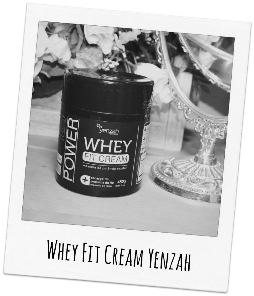 Máscara de Potência Capilar Whey Fit Cream Yenzah
