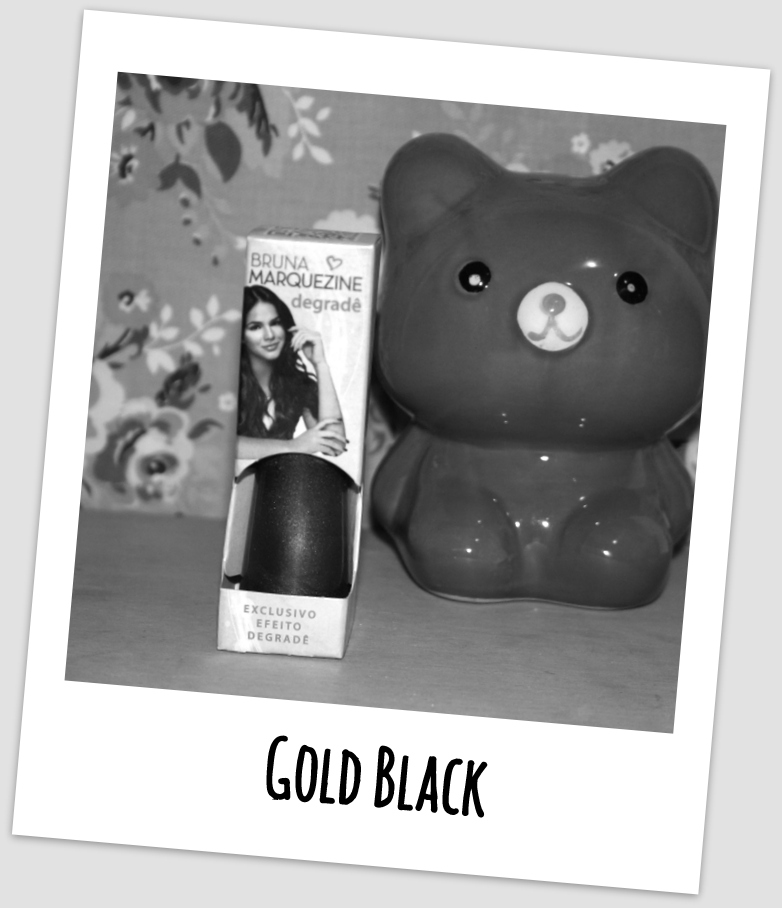 Esmalte Degradê Bruna Marquezine Black Gold