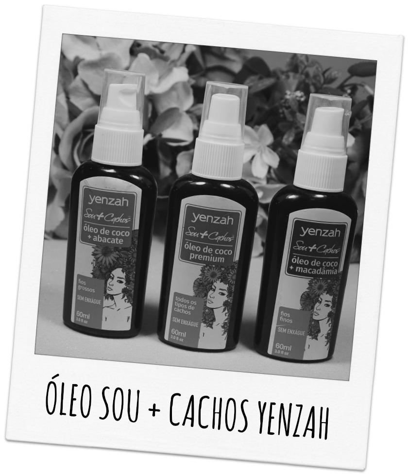Óleo Sou + Cachos Yenzah