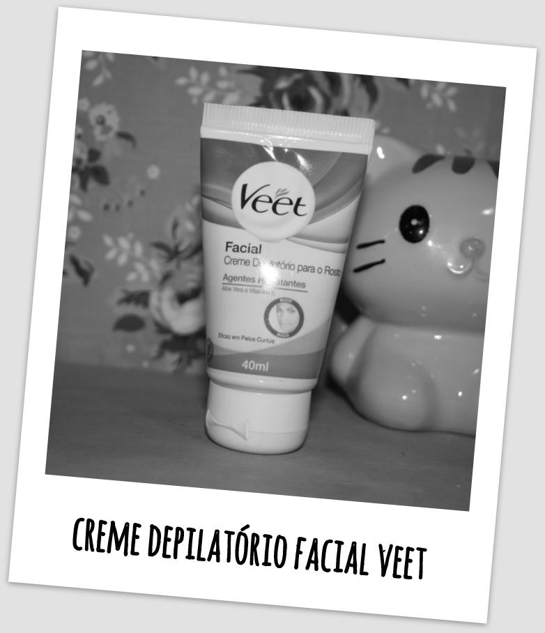 Creme Depilatório Facial Veet