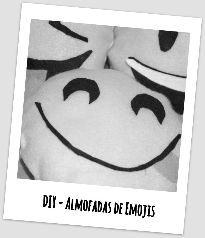 DIY - Almofadas de Emojis